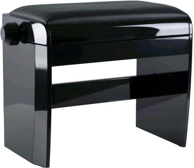 Dexibell Klaverbænk, polished black