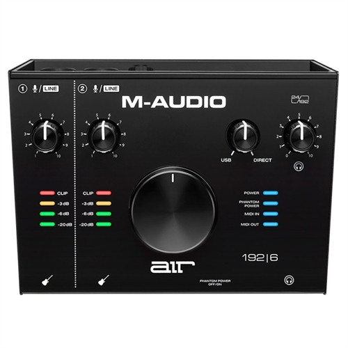 M-Audio AIR 192 I 6 Audio (USB) Interface
