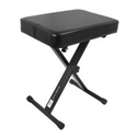 On-Stage Stand X-style bænk i sort, 3 positioner