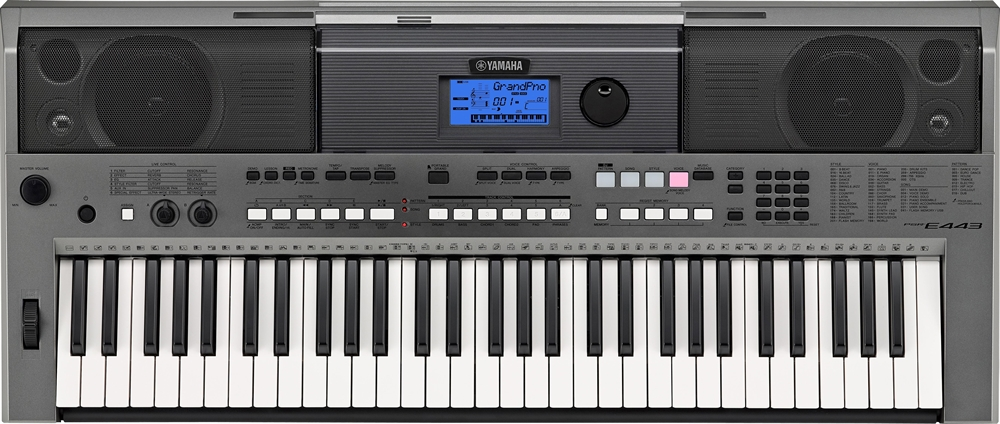 yamaha psr e443 keyboard 61 tangenter k b online. Black Bedroom Furniture Sets. Home Design Ideas