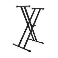 On-Stage Stands Keyboard double X-stativ